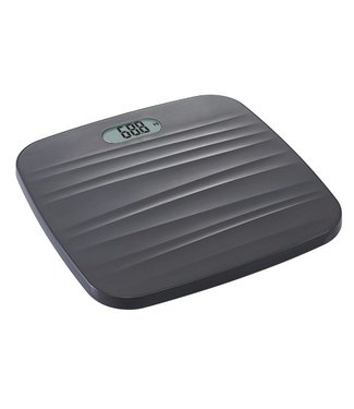 Cosy & Trendy Bathroom Scales 3D Gray 31x28cm Led 100 Gram Up to 180kg- Without 2xaaa batteries
