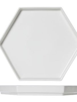 Cosy & Trendy For Professionals Hive Xl Plate Hexagonal 28x24x3cm