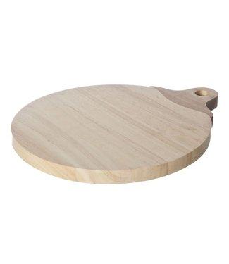 Cosy & Trendy Small Appel Snijplank Rubberwood Handvat30x24.5x1,8 Cm