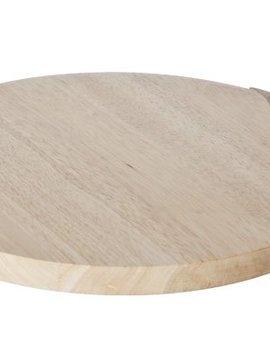 CT Big Apple Cutting Board Walnut Handle34x29x1,8 Cm
