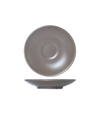 Cosy & Trendy Serena Taupe Saucer D14.3cm set of 12