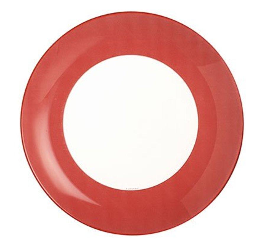 Simply Colors Red Dessertbord 20.5 Cm