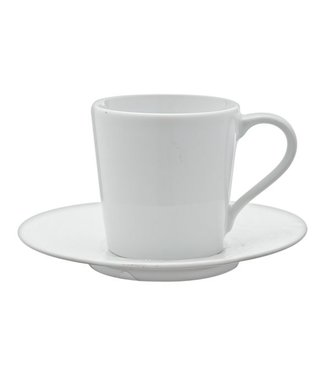 Spal Waves Cup And Saucer 10cl Setsaucer D12cm