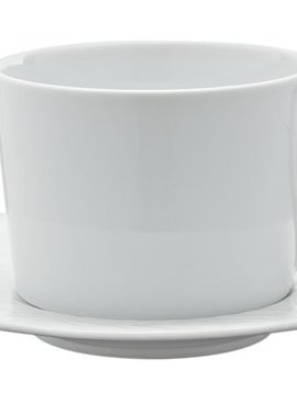 Spal Waves Cup And Saucer 24cl Set 4saucer D16cm