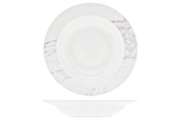 Cosy & Trendy Carrara Diep Bord D21.5cmnbc Inglaze (set van 6)