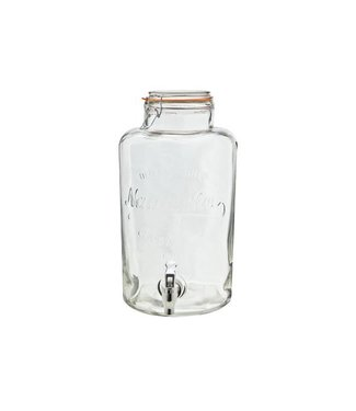 Cosy & Trendy Juice Dispencer In Glass With Tap 8.5ltd21cm