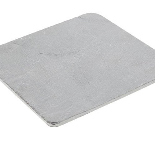 Cosy & Trendy Rondhoekig Leisteenplankje 15x15x0.5cm