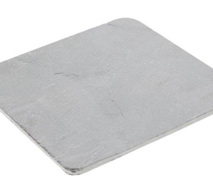 Rondhoekig Leisteenplankje 15x15x0.5cm