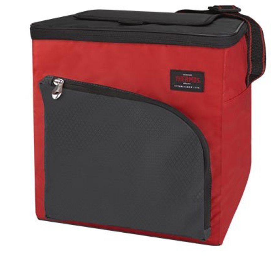 Cameron Cooler Bag  Red 15l 24can