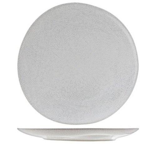 Cosy & Trendy Perseus White  Plat Bord  D28.5cm (set van 2)