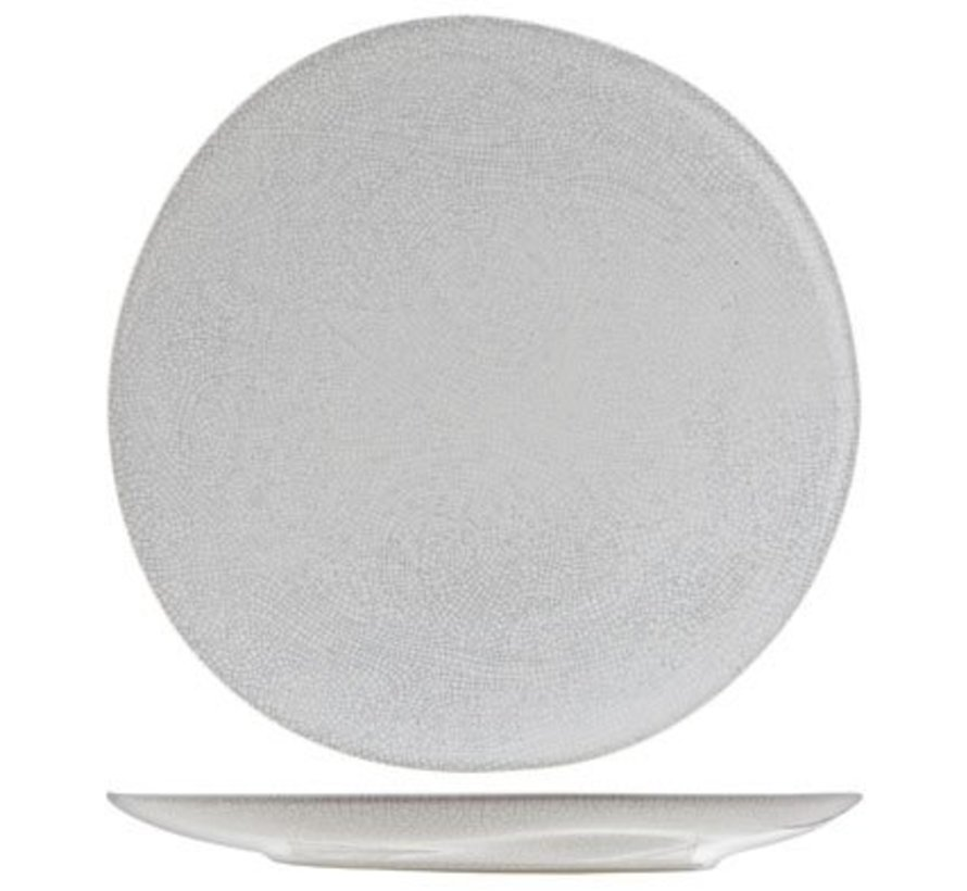 Perseus White  Plat Bord  D28.5cm (set van 2)