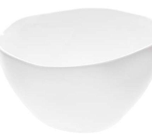Cosy & Trendy Candela White Schaaltje D12xh6.5cm (set van 4)
