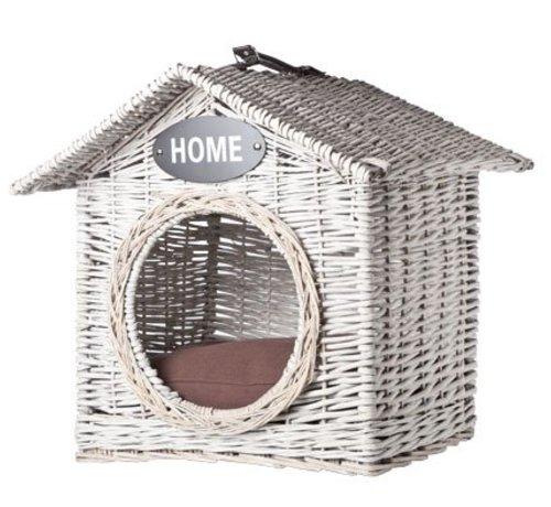 Cosy & Trendy Ratan House Cat-dog 'home' 50x50xh50cm