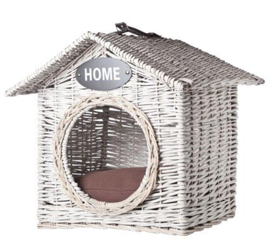 Ratan House Cat-dog 'home' 50x50xh50cm
