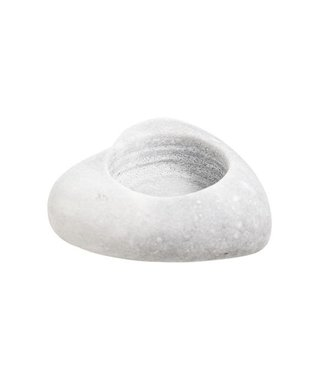 Cosy @ Home Theelichth.hart Marmer Stone 8x8xh3cm