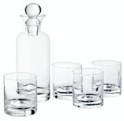 Cosy & Trendy Whisky Set Caraf 741ml - 4 Glazen 236mld6.7xh24.8cm - D7.5xh8cm
