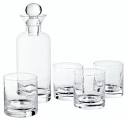 Cosy & Trendy Whisky Set Carafe 741ml - 4 Glasses 236md6.7xh24.8cm - D7.5xh8cm