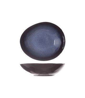 Cosy & Trendy Sapphire Oval Deep Plates 19.5x16.5cm - Ceramic - (set of 6)