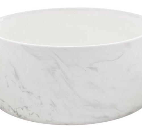 Cosy & Trendy Marble Grey Bowl D22xh10.3cm 2.1l