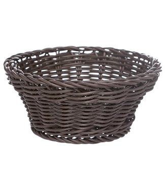 Cosy & Trendy For Professionals Ct Prof Basket Brown Round D15xh7cmplastic (set of 6)