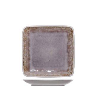 Cosy & Trendy Samira Piatto da Dessert 22x22cm - Ceramica - (Set di 6)