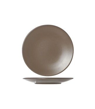Cosy & Trendy Serena Taupe Dessert Plate D20cm (set of 12)