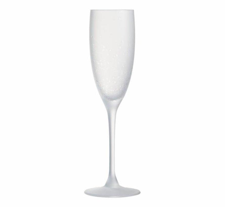 La Cave Rose Champagneglas 17cl Set4frosted