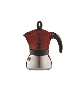 Bialetti Moka Induction Cafetiere 6cups - Redall Hobs