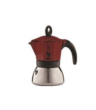 Bialetti Moka Induction Koffiekan 6t - Roodalle Vuren