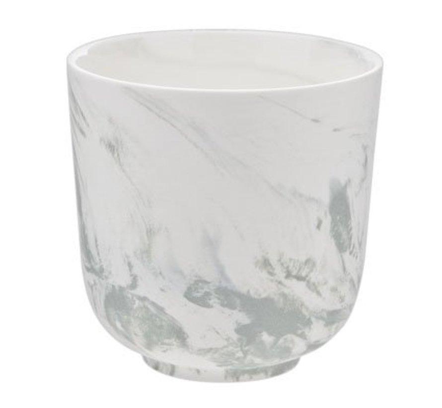 Marble Green Beker Zonder Oor 26cl D8.5cm (set van 8)