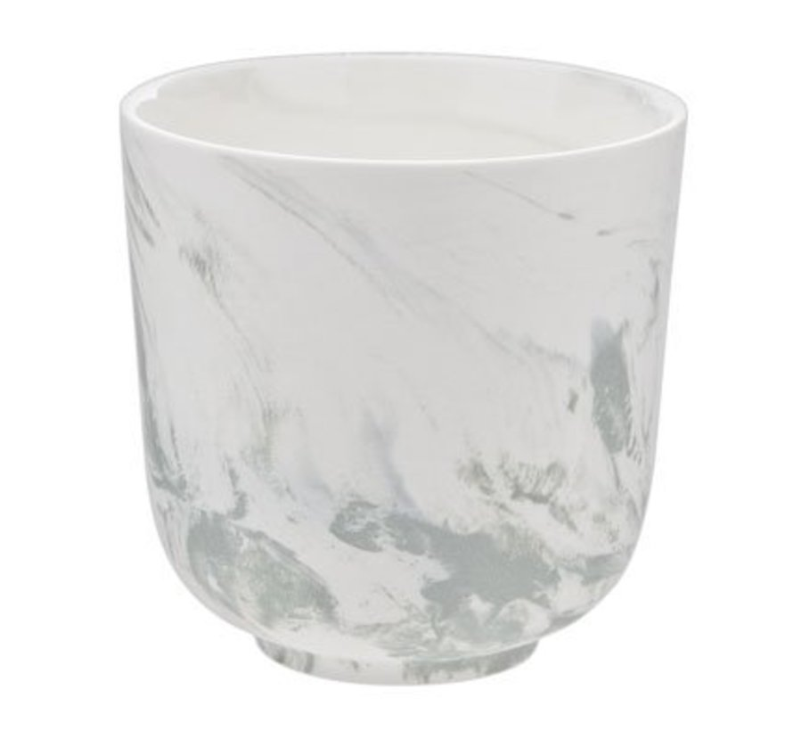 Marble Green Cup D8.5cm Without Handle26cl (8er Set)