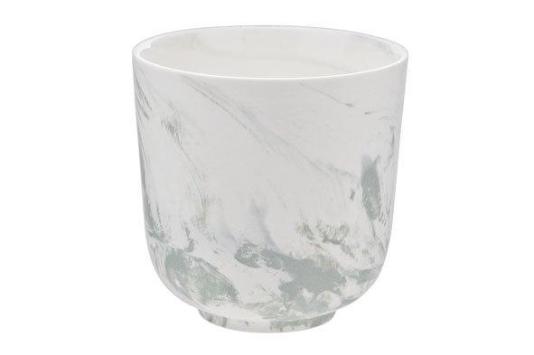 Cosy & Trendy Marble Green Beker Zonder Oor 26cl D8.5cm (set van 8)