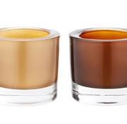 Cosy @ Home Theelichtglas Set 2 Koper Goud7x6cm (set van 12)