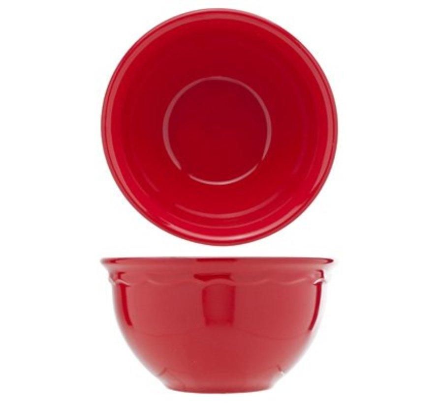 Juliet Red Bowl Blinkend D15cm 62cl (set van 16)