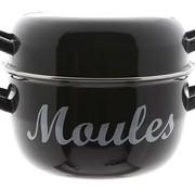 Cosy & Trendy For Professionals Moules Muscheltopf D24cm Schwarz 4kg (4er Set)