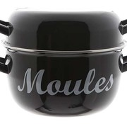 Cosy & Trendy For Professionals Moules Mussel Cass. D24cm Blacknew Model (set of 4)