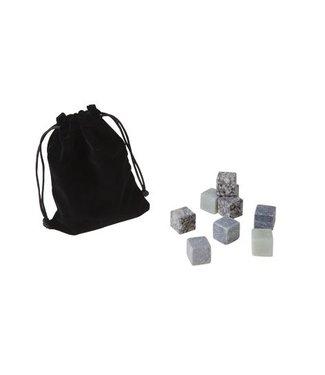 Cosy & Trendy Ijsstenen Graniet Set9 12x9x2cm