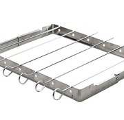 Cosy & Trendy Grill Sate Frame 25x34.5 Met 6 Stickssticks 34.5cm