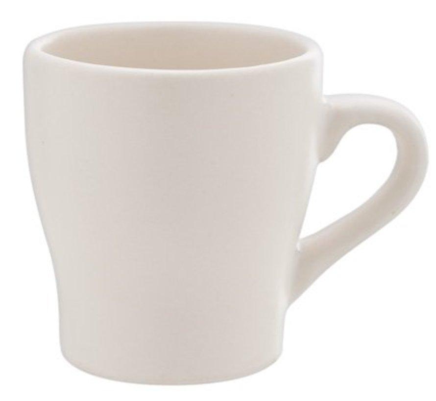 Anti Koffietas Beige Mat 8cl D5.6cm (set van 12)