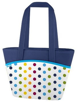 Thermos Dots And Stripes 9 Can Lunch Tote 7l3h Kalt