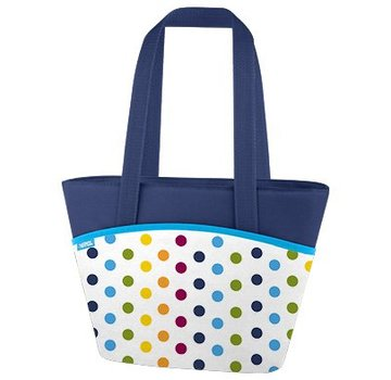 Thermos Dots And Stripes Koeltas Lunch Tote 7l9 Can - Houdt 3h Koud