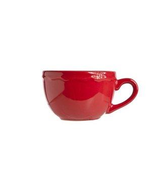Cosy & Trendy Juliet Red Espresso Cup Bright 12.5cld8cm