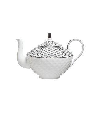 Cosy & Trendy Mosaic Teapot 0.9l D14xh16cm