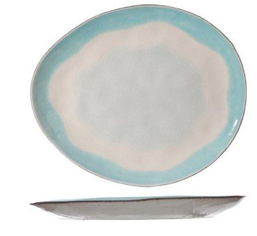 Cosy & Trendy Malibu Dessert Plate Oval 20.5x17.5cm