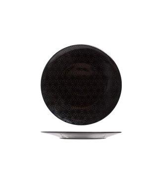 Cosy & Trendy Spider Black Dinner Plate D27cm
