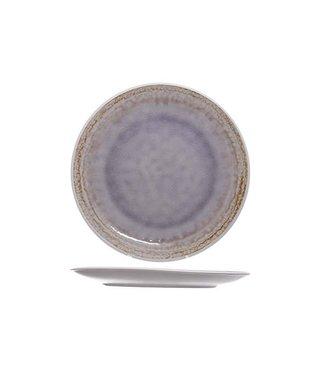 Cosy & Trendy Samira - Platte - Lila - D32cm - Keramik - (6er-Set).