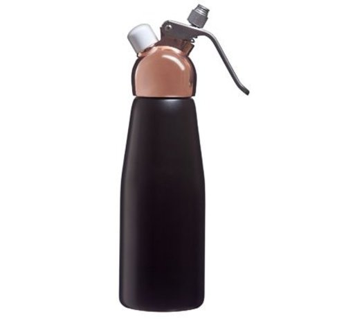 Cosy & Trendy Espuma-slagroomspuit 0,5l Zwart-koper