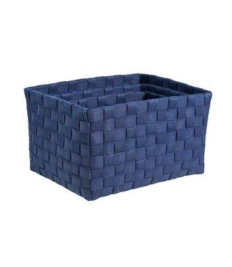 Cosy & Trendy Expert Basket Blue Set3 Nylon 26x19x14cm23x17x12cm - 20x15x10cm