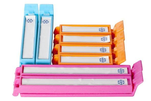 Cosy & Trendy Afdichting Clips Plastiek Set8blister Card