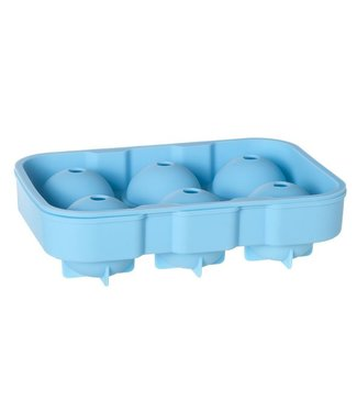 Cosy & Trendy Blue Gin Ball Tray In Six 18x12.6x4.8cm